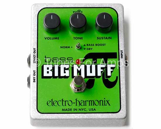 Electro harmonix bass bigmuff pi