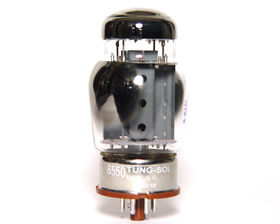 TungSol 6550 Matched Pair from Tubes for Amps